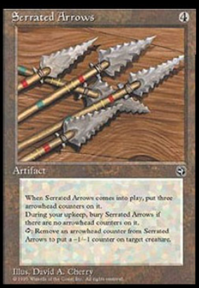 Serrated Arrows